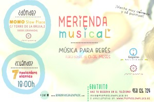 cartel momo slowplace merienda musical gorgoritos