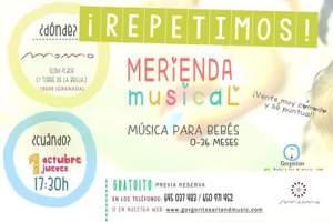 Merienda Musical Momo Repetimos