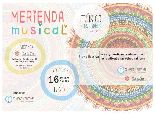 merienda musical gorgoritos musica para bebes granada aldea