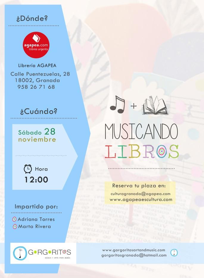 Musicando libros Agapea Granada Gorgoritos musica