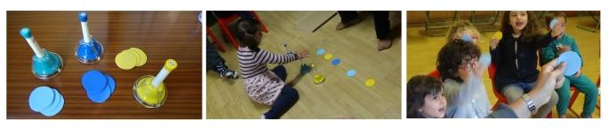 Reconocimiento auditivo UGR aula musical niños y niñas